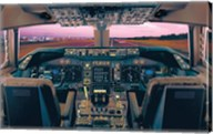 Boeing 747-400 Flight Deck Fine-Art Print