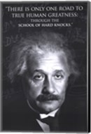 Einstein - Human Greatness Wall Poster