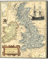 British Isles Map Fine-Art Print