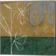 Pressed Wildflowers I Fine-Art Print