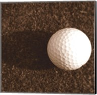 Sepia Golf Ball Study IV Fine-Art Print
