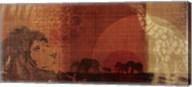 Safari Sunset II Fine-Art Print