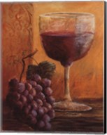 Grapes and Wine IV Fine-Art Print