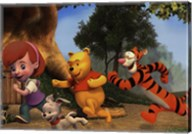 My Friends Tigger & Pooh Fine-Art Print