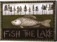 Fish The Lake Fine-Art Print