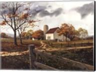 Autumn Cascade - Autumn Barn Fine-Art Print