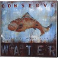 Conserve Water Fine-Art Print