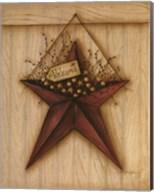 Welcome Barn Star Fine-Art Print