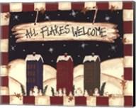 All Flakes Welcome Fine-Art Print