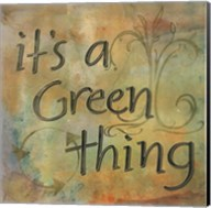 It's a Green Thing Fine-Art Print