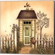 Cottage Outhouse I Fine-Art Print