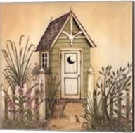 Cottage Outhouse II Fine-Art Print