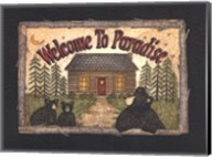 Welcome to Paradise Fine-Art Print