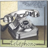 Telephono Fine-Art Print