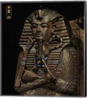 Golden Effigy of King Tutankhamen Fine-Art Print