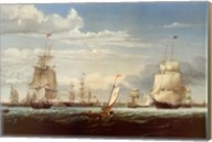 Boston Harbor, 1853 Fine-Art Print