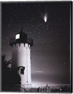 Comet Hale-Bopp Over East Chop Fine-Art Print