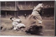 Joe DiMaggio Sliding Into Third Fine-Art Print