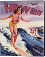 Fly to Hawaii Fine-Art Print