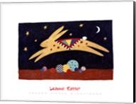 Leaping Rabbit Fine-Art Print