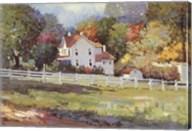 Early Autumn Farm Fine-Art Print