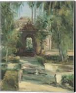 Fuentes y Jardines Fine-Art Print