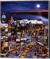 Moonlight Over Manhattan Fine-Art Print