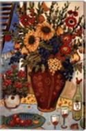 Flowers By The Window Fine-Art Print