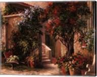Garden Court Fine-Art Print