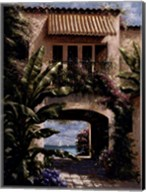 Tropical Villa I Fine-Art Print