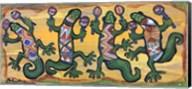 Gecko Maracas Band Fine-Art Print