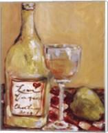 Picnic With Chardonnay Fine-Art Print
