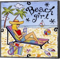 Beach Girl II Fine-Art Print