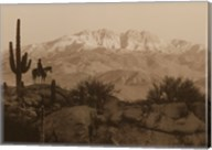 Cowboy Silhouette Fine-Art Print