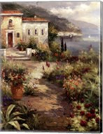 Villa's Garden Path Fine-Art Print