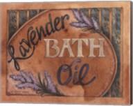 Lavender Bath Oil Fine-Art Print
