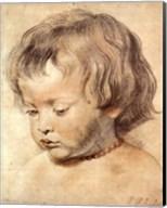 Head of a Boy Fine-Art Print