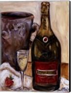 Champagne And Strawberries Fine-Art Print