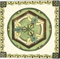 Arts & Crafts Plate I Fine-Art Print
