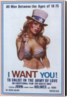 I Want You! To Enlist in the Army of Love, c.1970 Wall Poster