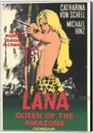 Lana Queen of the Amazons, c.1967 Wall Poster