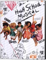 High School Musical 2 (sketchbook) Fine-Art Print