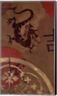 Asian Shield I Fine-Art Print