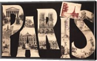 Postcard from Paris Fine-Art Print