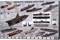 Aircraft Carrier Evolution Fine-Art Print