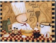 Good Food Good Life Fine-Art Print