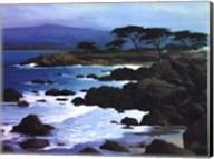 Coastline At Pacific Grove Fine-Art Print