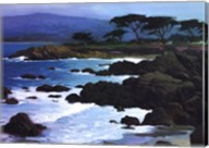 Coastline At Pacific Grove Fine-Art Print