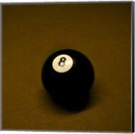 8 Ball on Brown Fine-Art Print