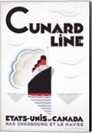 Cunard Line - Canada Fine-Art Print